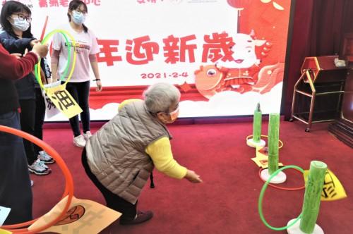 """青洲老人中心 — """"牛""""年慶祝活動"""