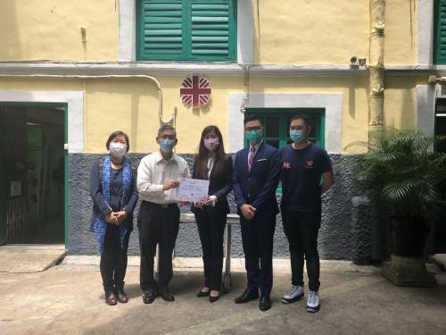 廣東慈善會送贈10,000個口罩